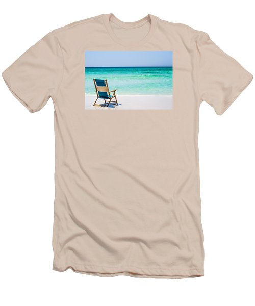 A View Of The Ocean Men's T-Shirt (Slim Fit) by Shelby  Young