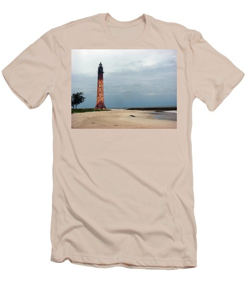Abandon Lighthouse Men's T-Shirt (Athletic Fit)