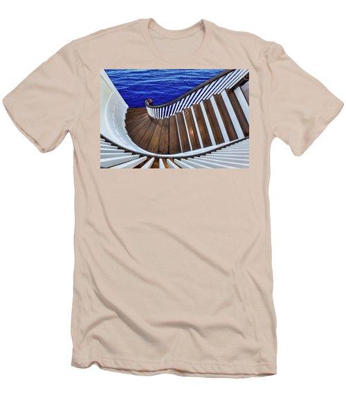 Abandon Ship Men's T-Shirt (Slim Fit) by Paul Wear