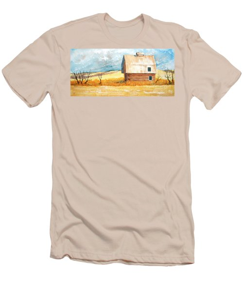 Abandoned Men's T-Shirt (Slim Fit) by Rebecca Davis