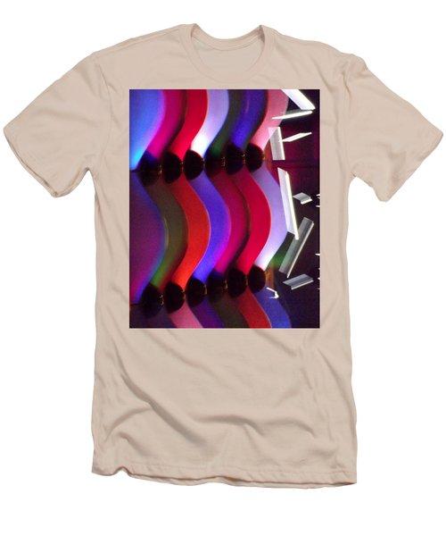 Abstract1 Men's T-Shirt (Slim Fit) by John Wartman