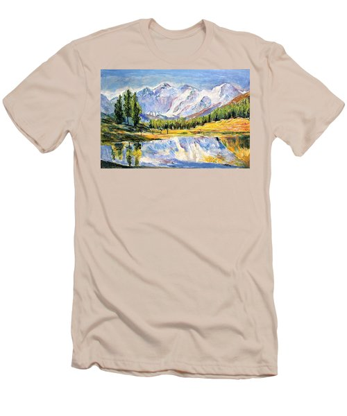 Above The Sea Level Men's T-Shirt (Athletic Fit)