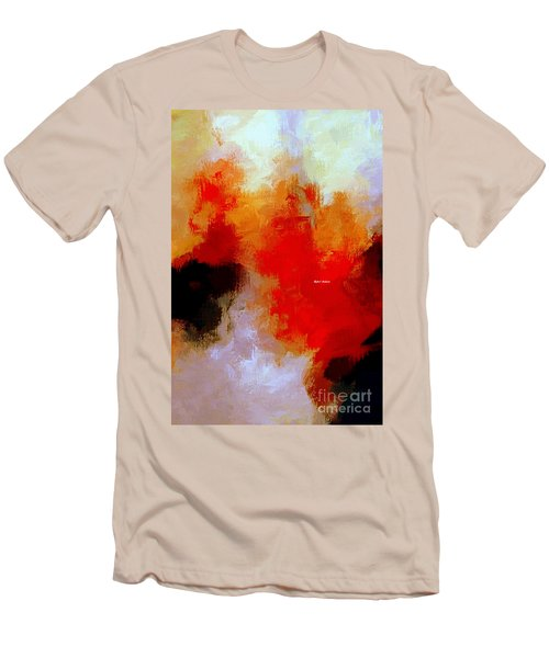 Men's T-Shirt (Athletic Fit) featuring the digital art Abstract 1909f by Rafael Salazar