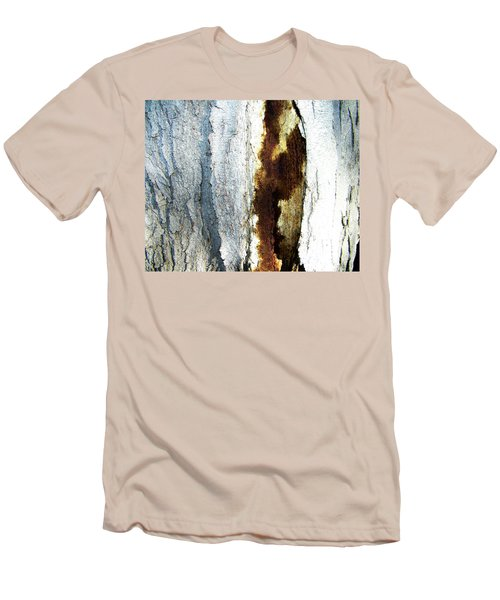 Men's T-Shirt (Slim Fit) featuring the photograph Abstract One by Lenore Senior