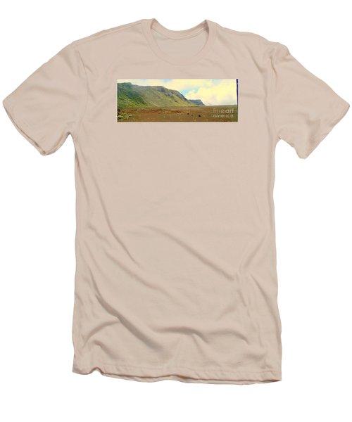 Active Volcano Men's T-Shirt (Slim Fit) by John Potts