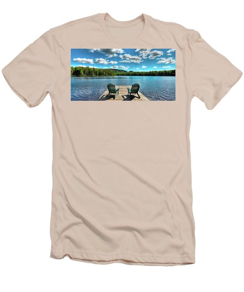 Adirondack Panorama Men's T-Shirt (Athletic Fit)