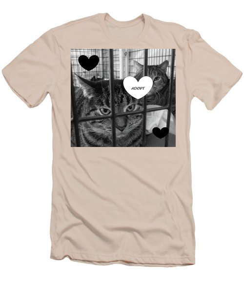 Adopt Men's T-Shirt (Athletic Fit)