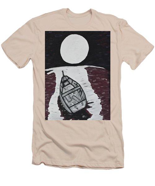 Adrift Men's T-Shirt (Slim Fit) by Jonathon Hansen