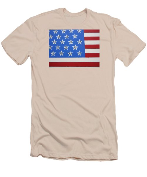 Agitate Men's T-Shirt (Slim Fit) by Otis L Stanley