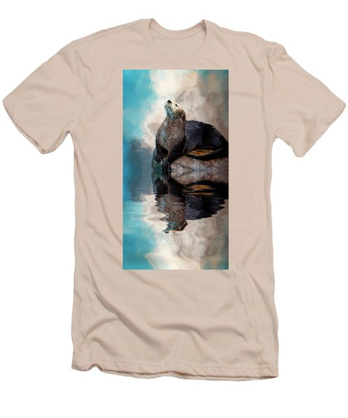 Ahhhhhhhh Men's T-Shirt (Slim Fit) by Cyndy Doty