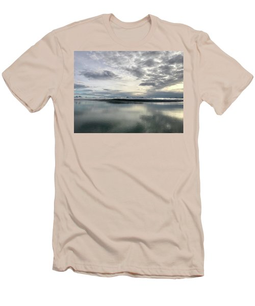 Alaskan Sunrise Men's T-Shirt (Athletic Fit)
