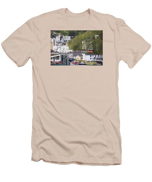 Alaskan Transportation Men's T-Shirt (Athletic Fit)