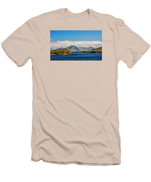 Alaskan Wilderness Men's T-Shirt (Athletic Fit)