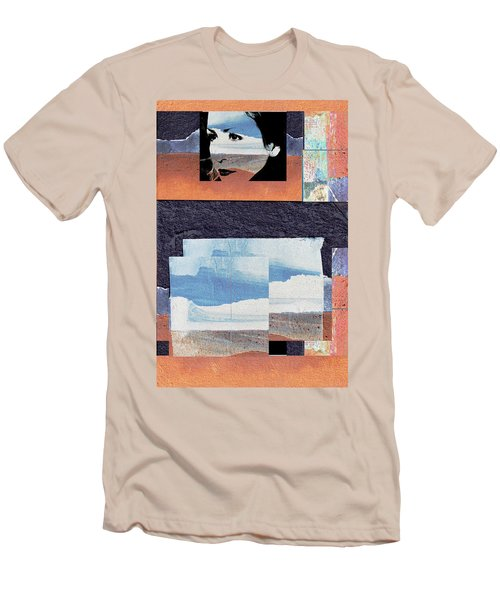 Men's T-Shirt (Slim Fit) featuring the photograph All That We See Or Seem Is But A Dream Within A Dream, Even She by Danica Radman