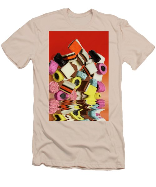 Allsorts Sweets Men's T-Shirt (Slim Fit) by David French