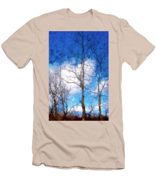 Almost Spring Men's T-Shirt (Slim Fit) by Spyder Webb