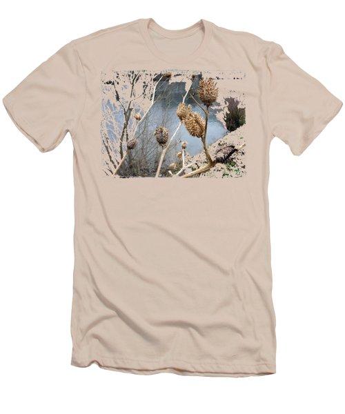 Along The River Men's T-Shirt (Slim Fit) by Vesna Martinjak