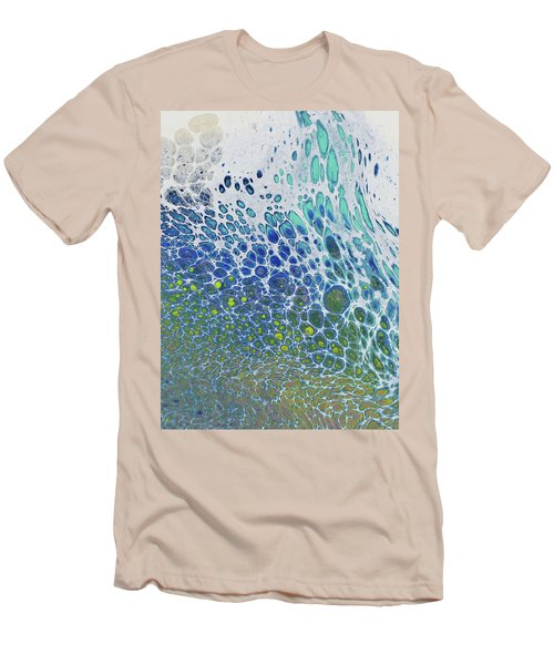 Along The Wish Filled Shore Men's T-Shirt (Athletic Fit)