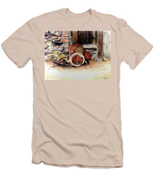 Amanda's Saddle Men's T-Shirt (Athletic Fit)