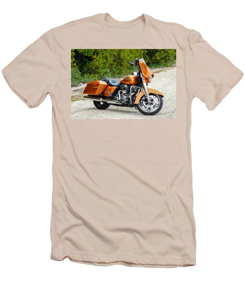 Amber Whiskey Street Glide Men's T-Shirt (Athletic Fit)