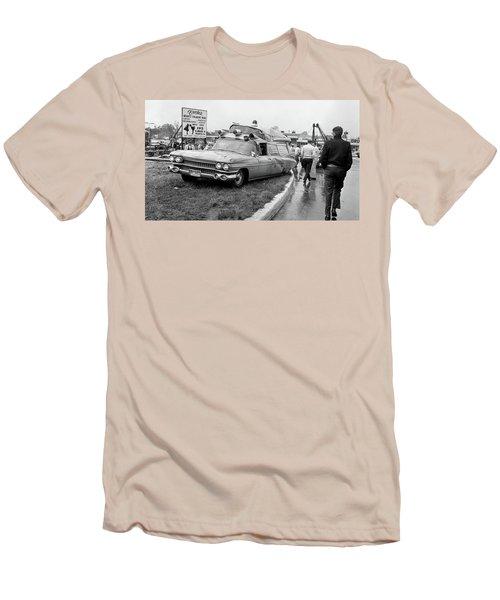 Ambulance Accident Men's T-Shirt (Slim Fit) by Paul Seymour