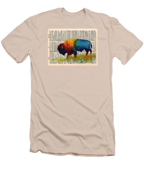 American Buffalo IIi On Vintage Dictionary Men's T-Shirt (Athletic Fit)