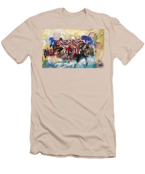 American Pride Men's T-Shirt (Athletic Fit)