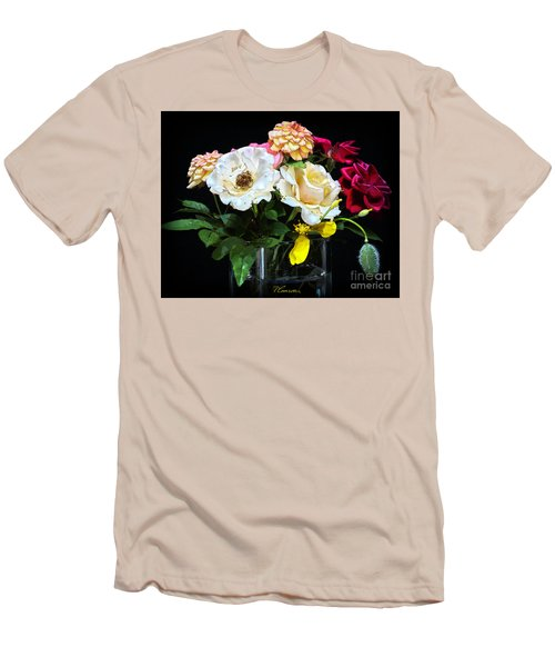 Men's T-Shirt (Slim Fit) featuring the photograph An Informal Study by Tom Cameron