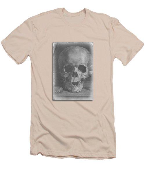 Ancient Skull Tee Men's T-Shirt (Slim Fit) by Edward Fielding