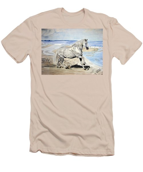 Andalusian Horse Men's T-Shirt (Athletic Fit)