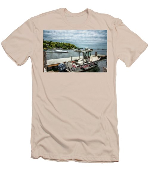Men's T-Shirt (Slim Fit) featuring the digital art Andre by Daniel Hebard