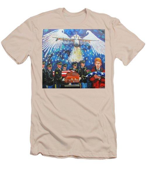 Angel Flight Men's T-Shirt (Athletic Fit)