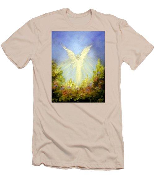 Angel's Garden Men's T-Shirt (Slim Fit) by Marina Petro