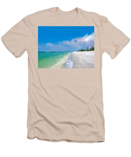 Another Beach Day Men's T-Shirt (Athletic Fit)