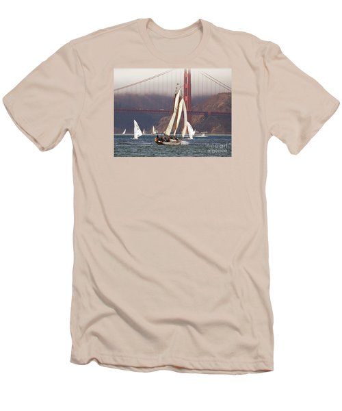 Another Fine Day Men's T-Shirt (Slim Fit) by Scott Cameron