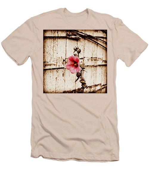 Antique Flower Men's T-Shirt (Athletic Fit)