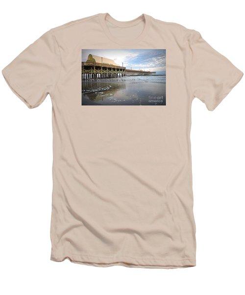 Apache Pier Men's T-Shirt (Slim Fit) by Shelia Kempf
