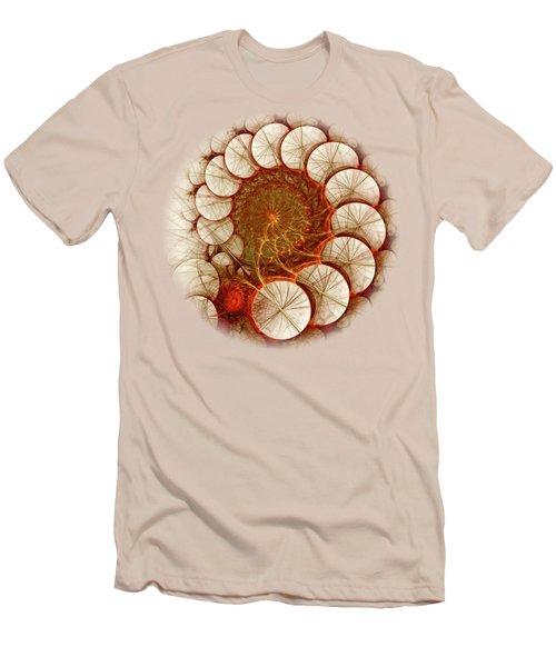 Apple Cinnamon Men's T-Shirt (Slim Fit) by Anastasiya Malakhova