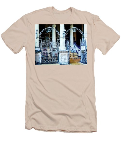 Arched Entrance In Mumbai Men's T-Shirt (Slim Fit) by Marion McCristall