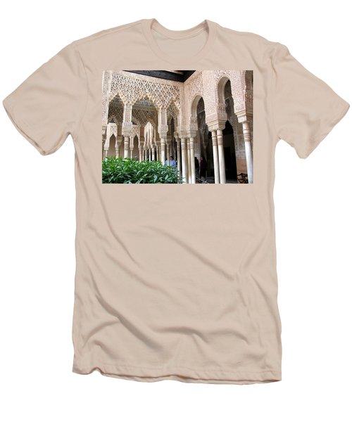 Arches And Columns Granada Men's T-Shirt (Slim Fit) by Jacqi Elmslie