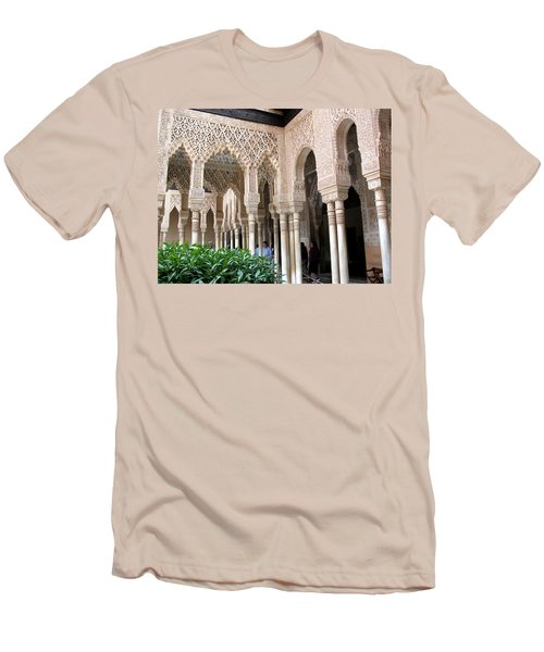 Arches And Columns Granada Men's T-Shirt (Athletic Fit)