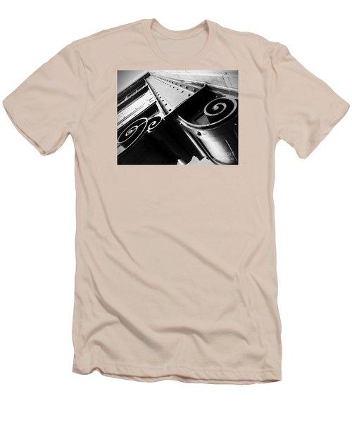 Art Deco Steel Men's T-Shirt (Slim Fit) by James Aiken