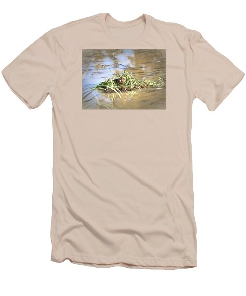 Artistic Lifeguard Men's T-Shirt (Slim Fit) by Leif Sohlman