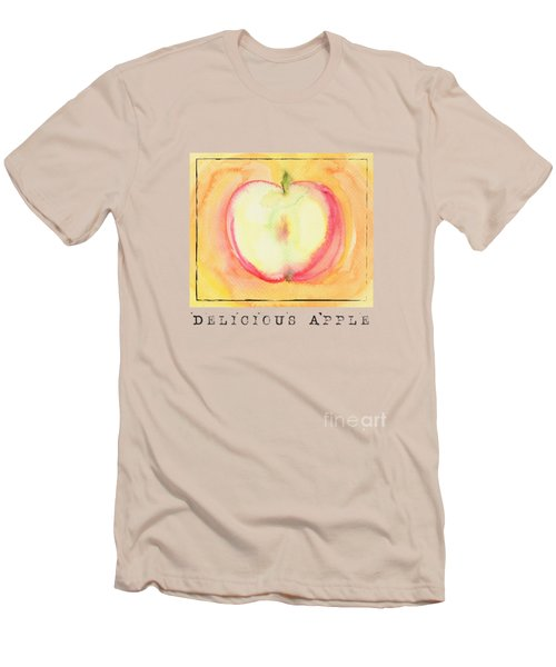 Delicious Apple Men's T-Shirt (Athletic Fit)