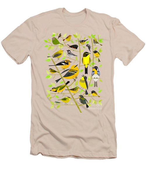 Warblers 1 Men's T-Shirt (Athletic Fit)