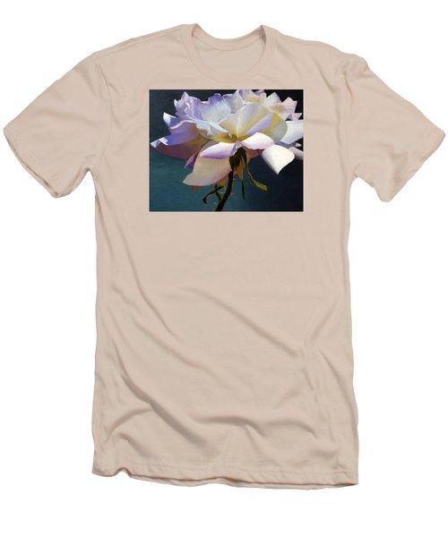 White Rose Of Eden Men's T-Shirt (Athletic Fit)