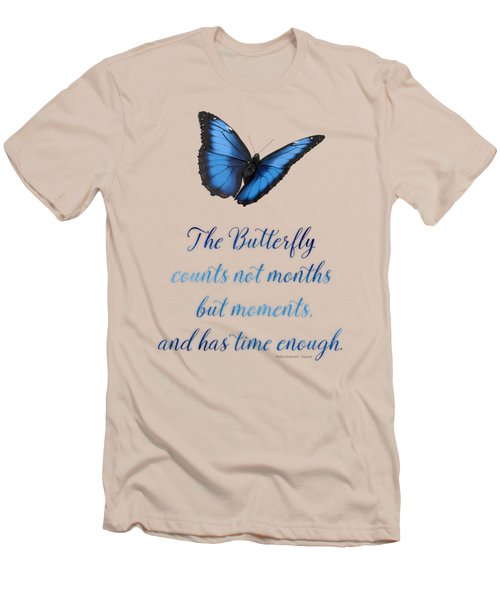 The Butterfly Men's T-Shirt (Slim Fit) by Mary Machare