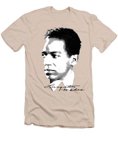 Langston Hughes Men's T-Shirt (Athletic Fit)