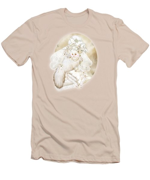 Cat In Fancy Bridal Hat Men's T-Shirt (Athletic Fit)