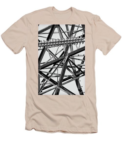 What's Your Angle Men's T-Shirt (Slim Fit) by Bill Kesler